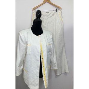 Vintage Bob Mackie Blazer Suit Coat(16) Pants(14)